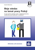 okładka broszury Moja wiedza na temat pracy policji