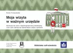 okładka broszury - budynek urzędu, polska flaga, ktoś przed wejściem